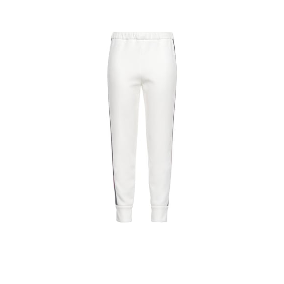 Technical cotton fleece trousers