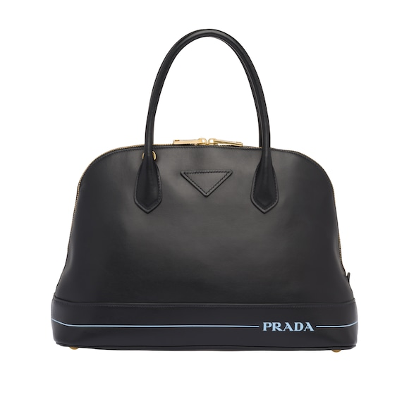 Grand sac Prada Mirage en cuir