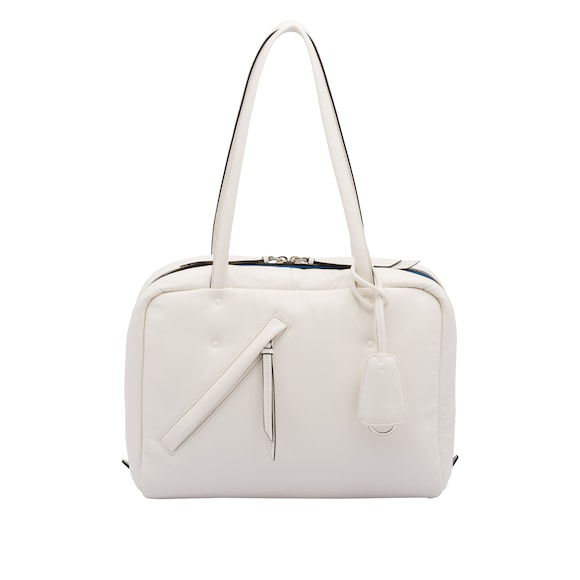 Medium padded nappa leather bag