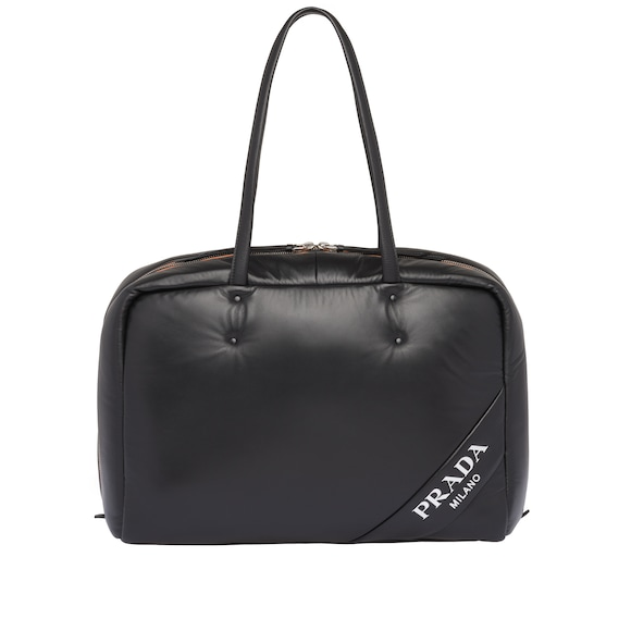 Large padded nappa bag