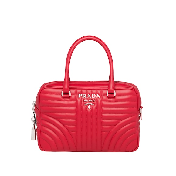 Prada Diagramme leather handbag