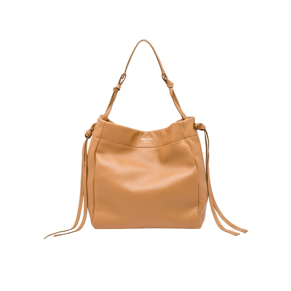 Deerskin hobo bag