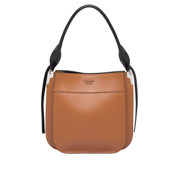 Prada Margit leather shoulder bag