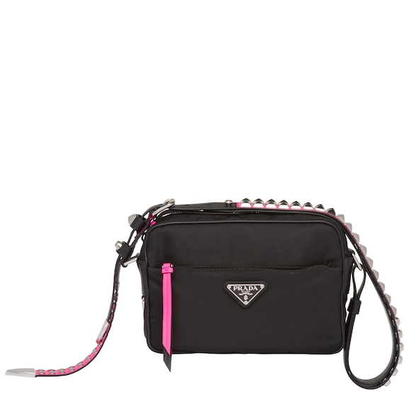 Prada Black Nylon shoulder bag