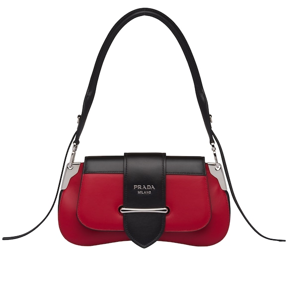 Prada Sidonie leather shoulder bag