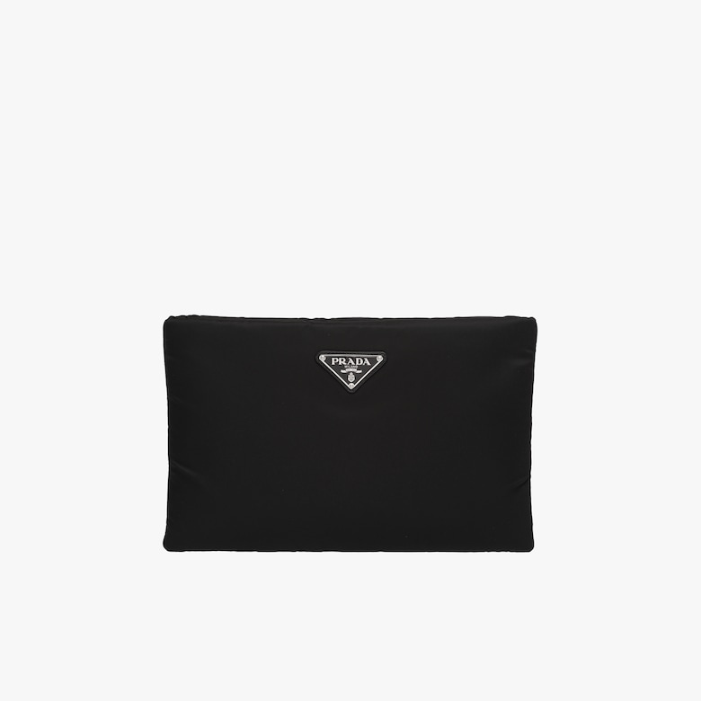 Pochette in nylon imbottito medium