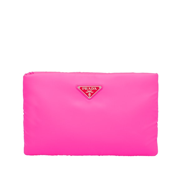 Wattierte Nylon-Clutch