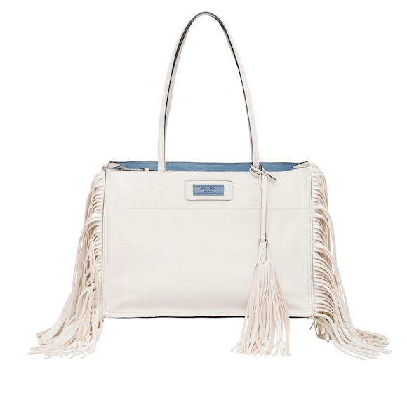 Prada Etiquette fringed bag