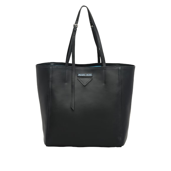 Prada Concept Medium Tote-Bag aus Leder