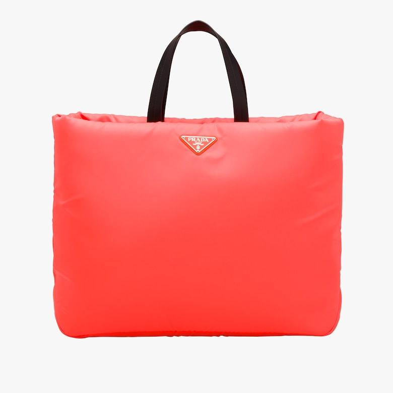 Large Padded nylon tote
