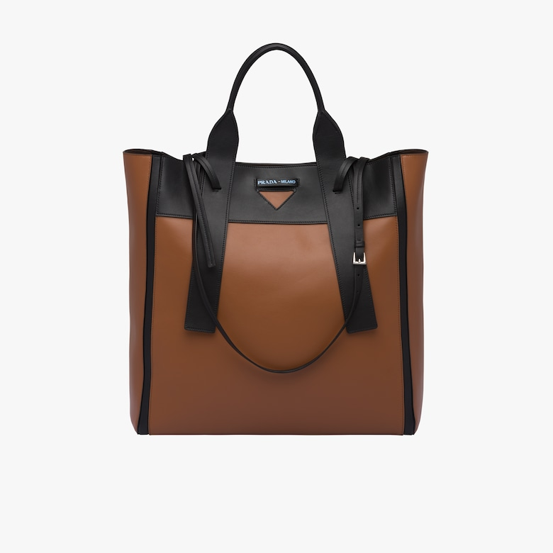 Prada Ouverture large leather bag