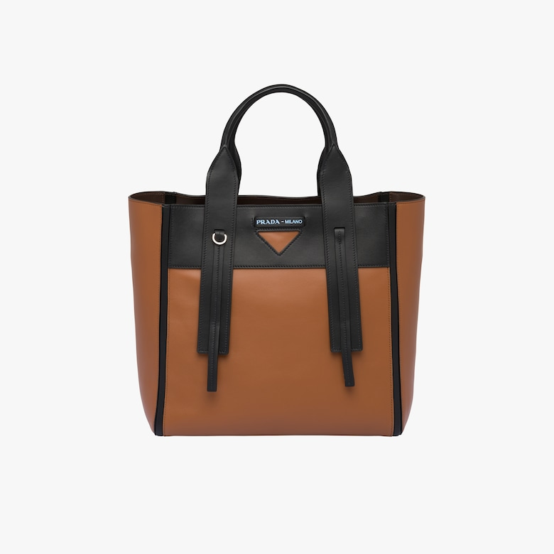 Prada Ouverture medium leather bag