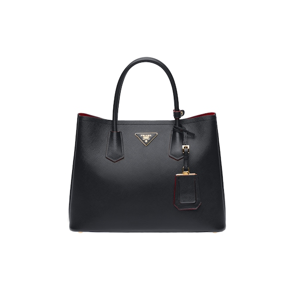 Borsa Prada Double Medium in Saffiano