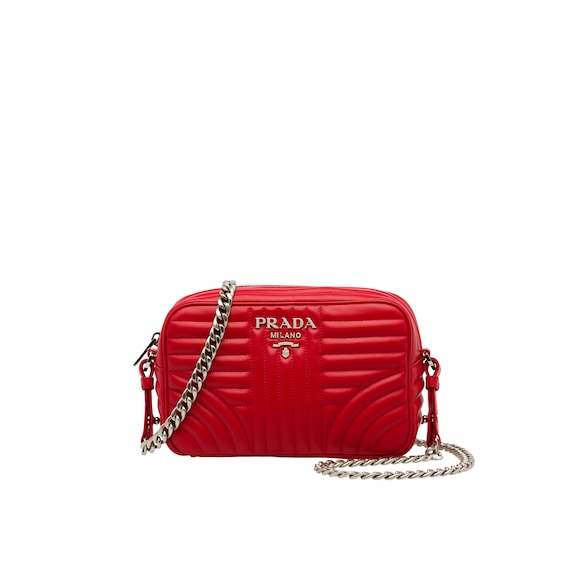Prada Diagramme leather cross-body bag