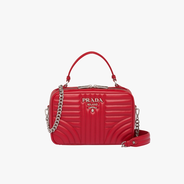 Prada Diagramme leather bag