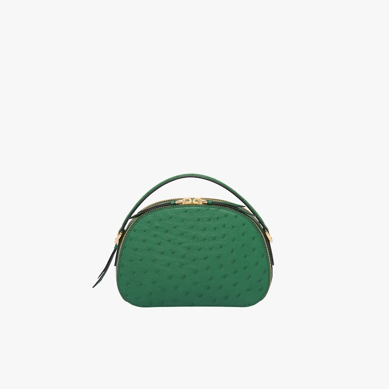 Prada Odette ostrich leather bag