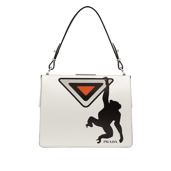 Prada Light Frame Ledertasche