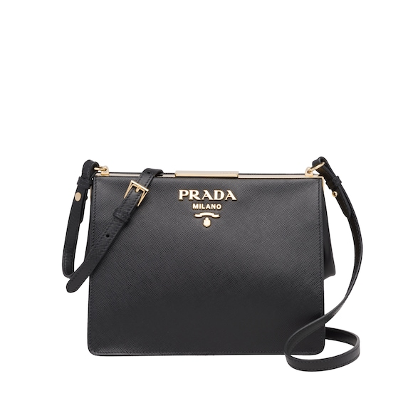 Prada Light Frame Saffiano leather bag