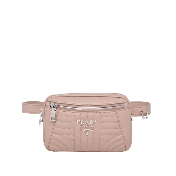 Prada Diagramme Leather Belt Bag