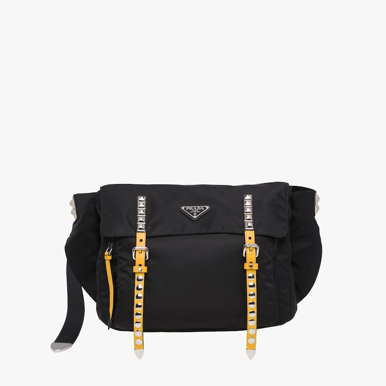 Prada Black Nylon Belt Bag