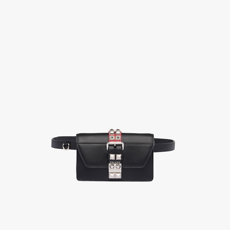 Prada Elektra leather belt bag