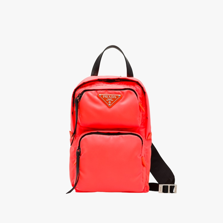 Nylon one-shoulder backpack