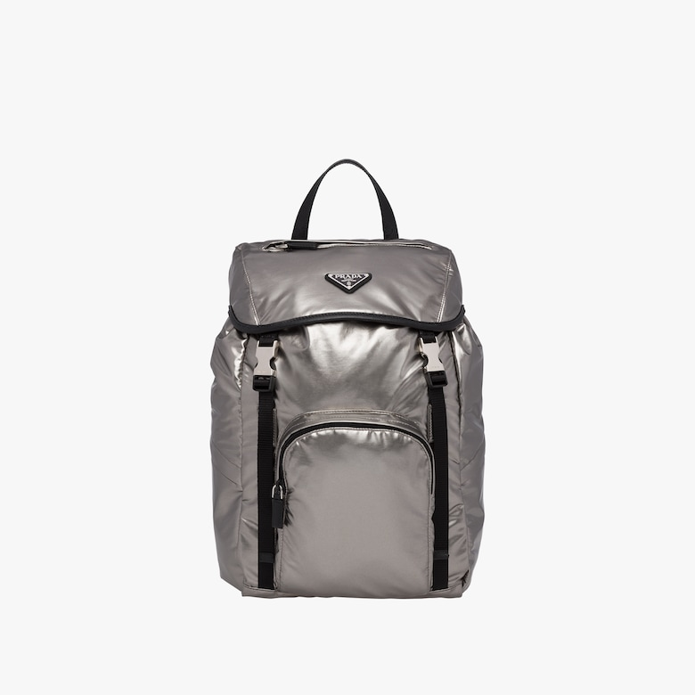 Laminated fabric backpack