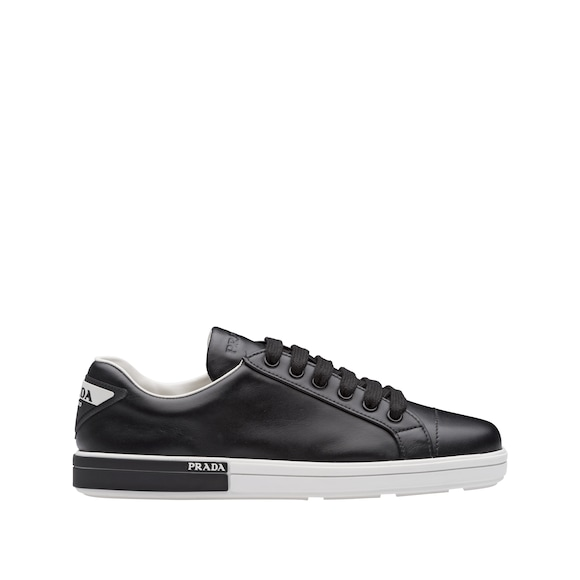 Calf leather sneakers