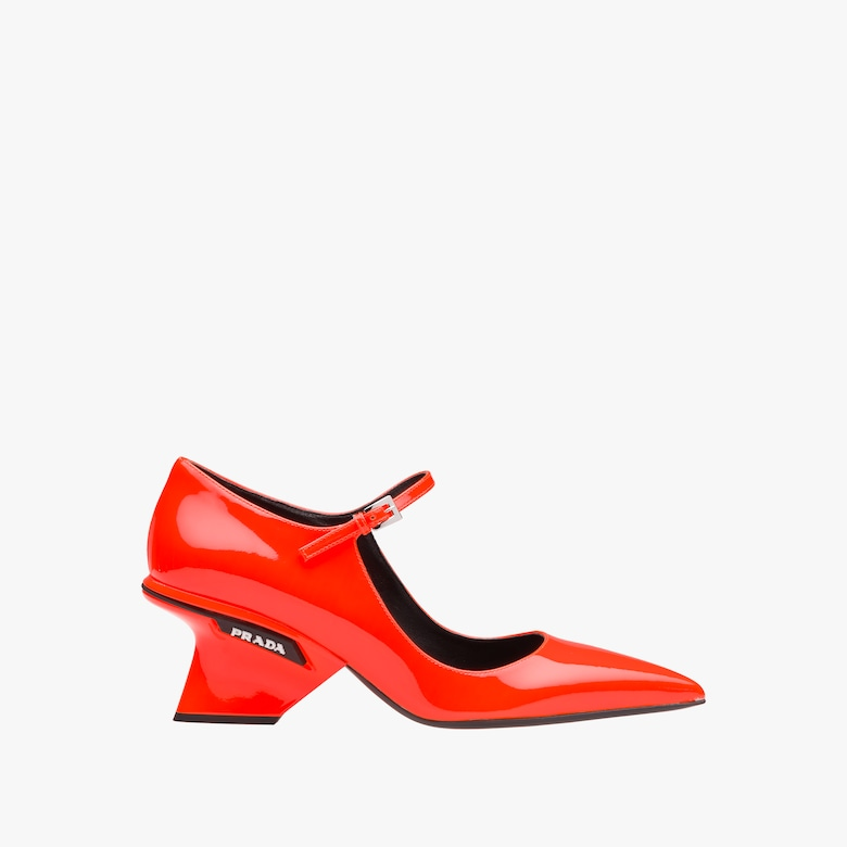 Patent leather Mary Jane pumps