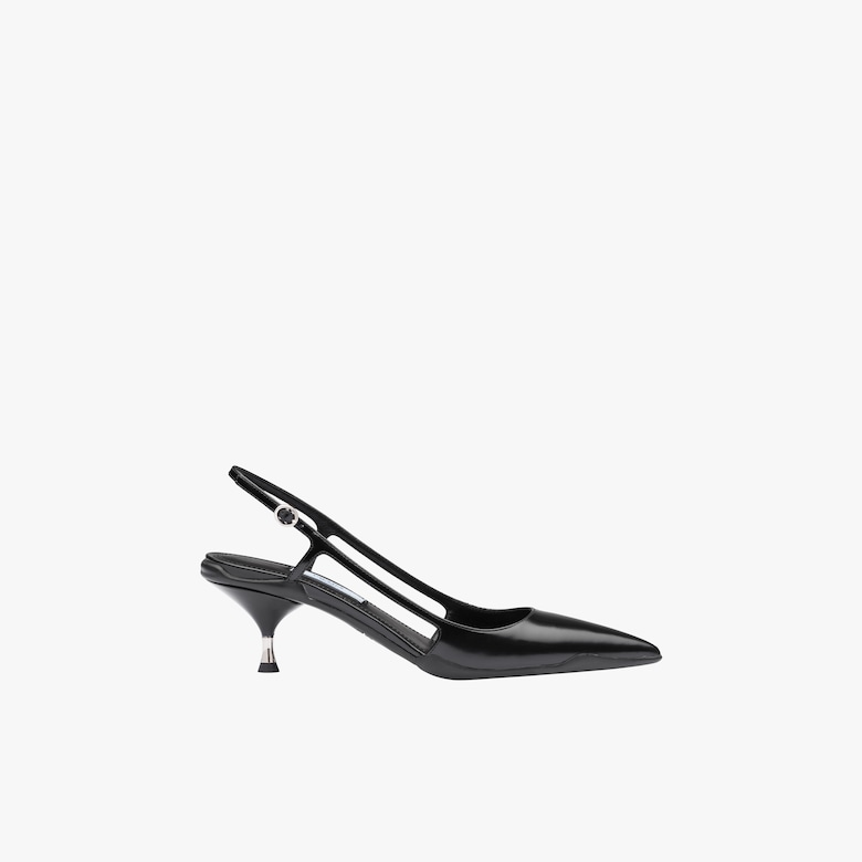 Opanca Leather Slingbacks