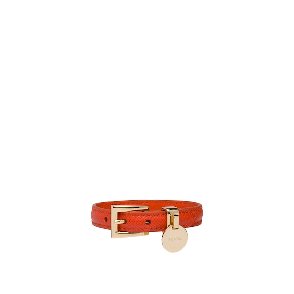 Saffiano Leather Bracelet