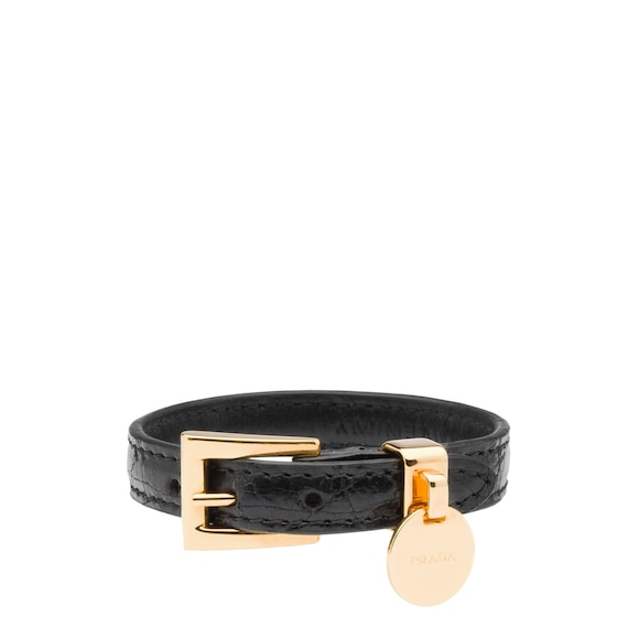 Crocodile Leather Bracelet