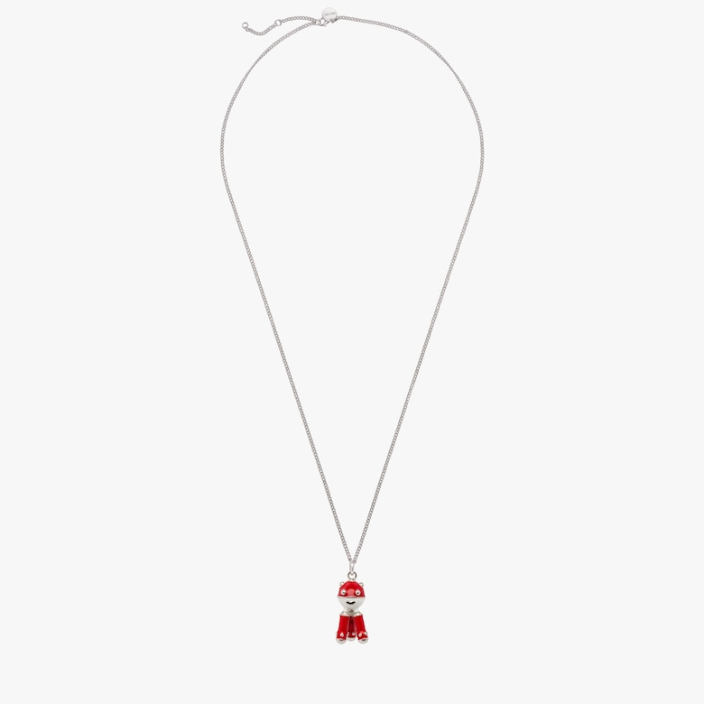Pradamalia necklace with silver charm