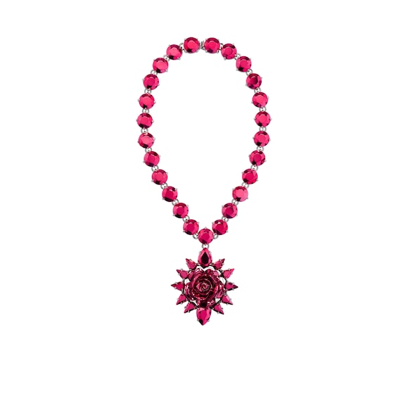 Prada Rose Jewels necklace