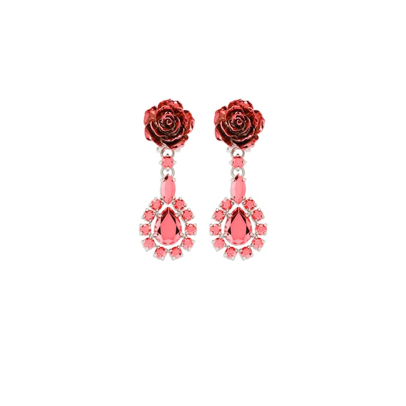Prada Rose Jewels earrings
