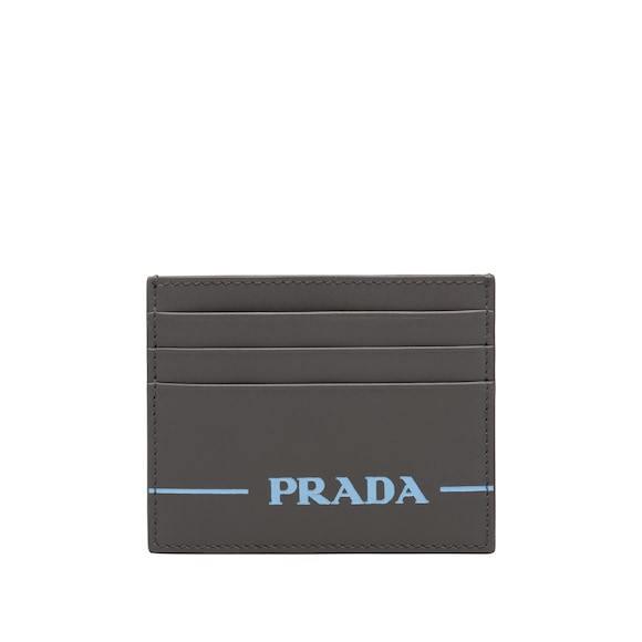 Prada Mirage leather credit card holder