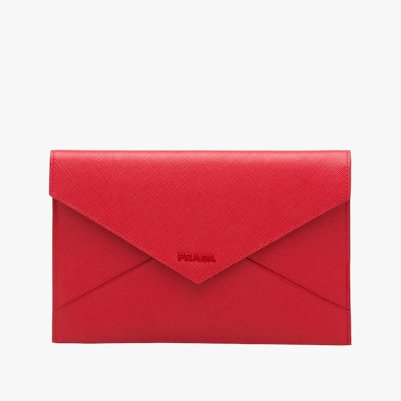 Saffiano leather document holder set