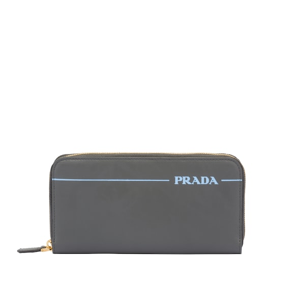 Large Prada Mirage leather wallet