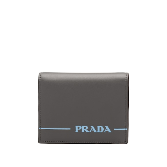 Small Prada Mirage leather wallet