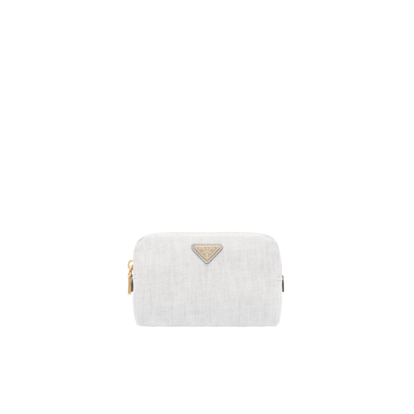 Denim Cosmetic Pouch