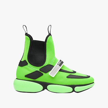 FLUORESCENT GREEN/BLACK