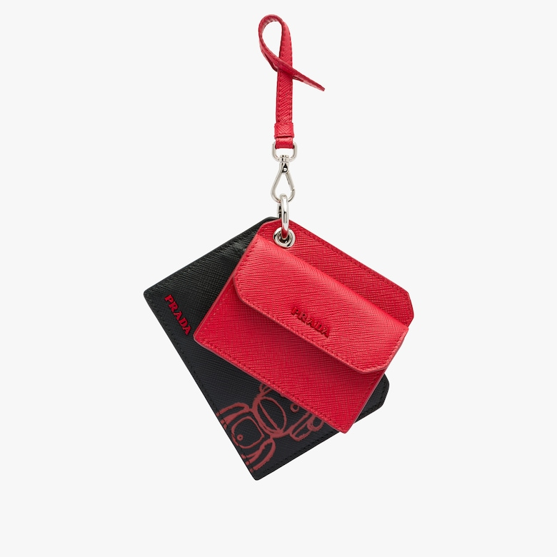 Pradamalia leather keychain trick