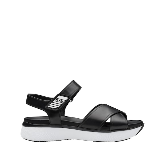 Sandals for Women On Sale, Black, Leather, 2017, 2.5 3.5 4.5 5.5 6.5 7.5 8.5 Prada