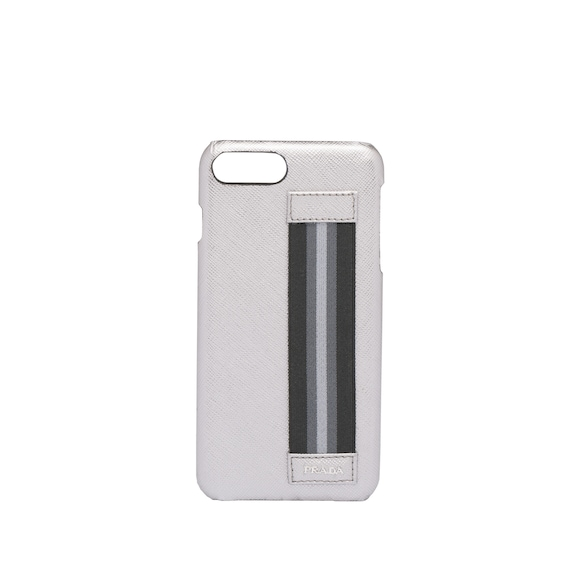 Saffiano leather iPhone cover