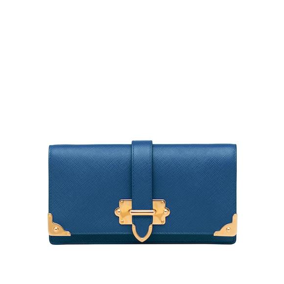 Minitasche aus Saffiano Leder