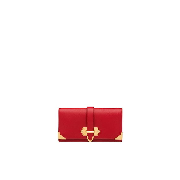 Saffiano Leather Mini Bag