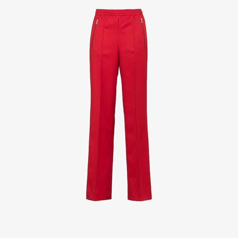 Pantaloni in gabardine divisa