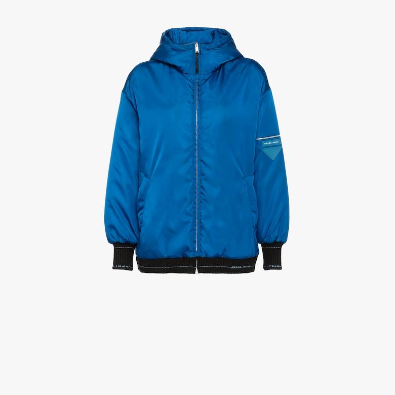 Nylon gabardine jacket
