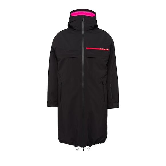 Professional technical fabric raincoat