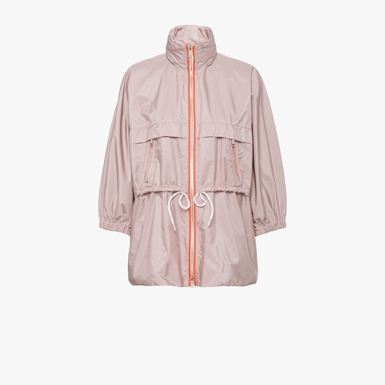 Feather nylon rain jacket
